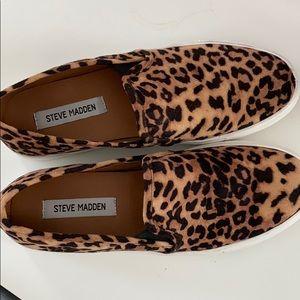 Steve Madden Cheetah slip on